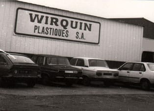 Wirquin Orginal headquarter in 1977